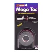 Overgrip Unique Tourna Mega Tac Com 03 Unidades - Preto