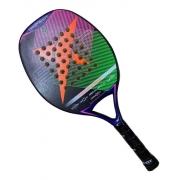 Raquete Beach Tennis Drop Shot Touch Orange - Fibra De Vidro