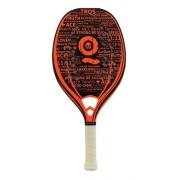 Raquete Beach Tennis Turquoise Black Death Challenge Orange