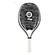 Raquete Beach Tennis Turquoise Black Death Challenge White
