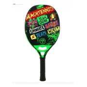 Raquete De Beach Tennis Turquoise Concept Green