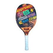 Raquete De Beach Tennis Turquoise Concept Orange