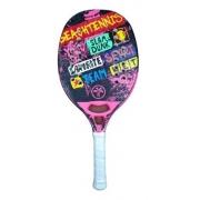Raquete De Beach Tennis Turquoise Concept Pink