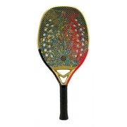 Raquete De Beach Tennis Turquoise Dna Extreme Red