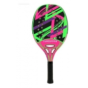 Raquete De Beach Tennis Turquoise Revolution 1.2 - Pink