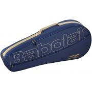 Raqueteira Babolat Club Essential X3 - Azul Marinho/ouro