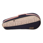 Raqueteira Babolat Essential Black Beige X3
