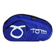 Raqueteira De Beach Tennis Tom Caruso Express Azul E Preta
