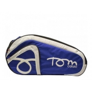 Raqueteira De Beach Tennis Tom Caruso Tour Azul E Preto