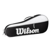 Raqueteira Wilson Advantage Pro Triplex3 Preta Branca Cinza