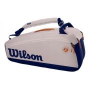 Raqueteira Wilson Roland Garros Premium 9x
