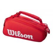 Raqueteira Wilson Super Tour X9 Vermelha (térmica)