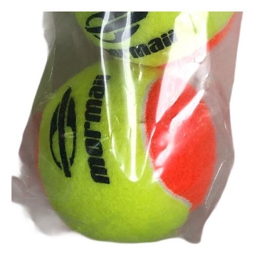 Bola De Beach Tennis Mormaii Premium Pack Com 3 Bolas