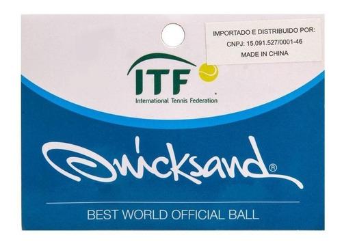 Bola De Beach Tennis Quicksand Pack C/ 03 Unidades