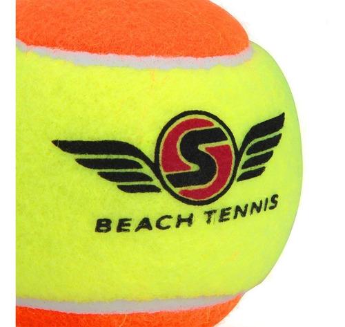 Bola De Beach Tennis Sexy Com 03 Bolas