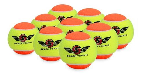 Bola De Beach Tennis Sexy Pack C/ 09 Bolas