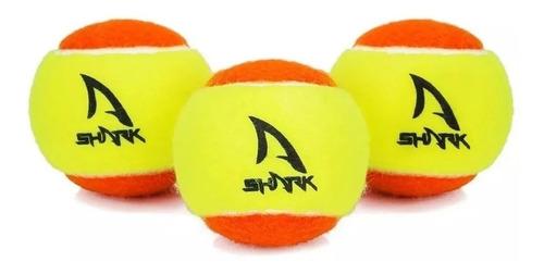 Bola De Beach Tennis Shark - Pack Com 03 Unidades
