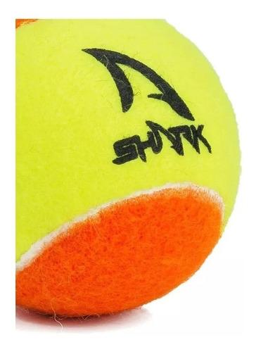 Bola De Beach Tennis Shark - Pack Com 06 Unidades
