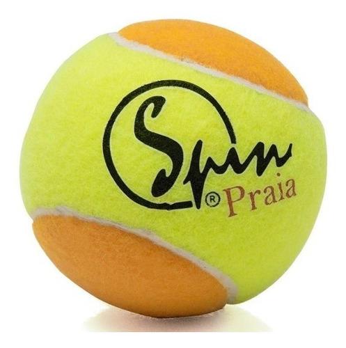 Bola De Beach Tennis Spin - Pack Com 03 Bolas