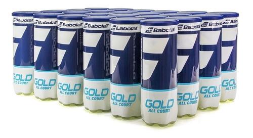 Bola De Tênis Babolat Gold All Court Caixa Com 24 Tubos
