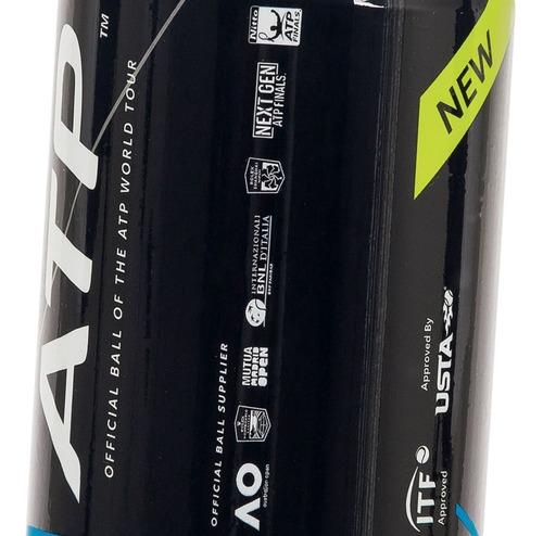 Bola De Tênis Dunlop Atp Championship Extra Duty - 6 Tubos