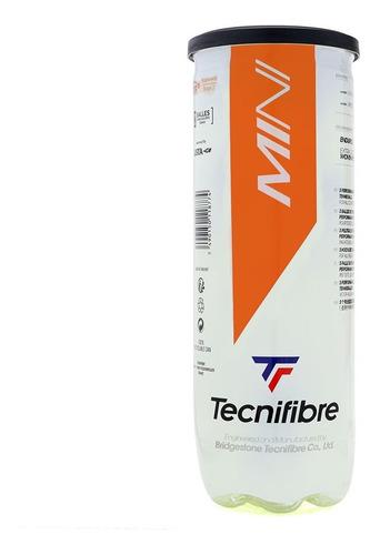 Bola De Tênis E Beach Tennis Tecnifibre Soft Stage 2 Laranja