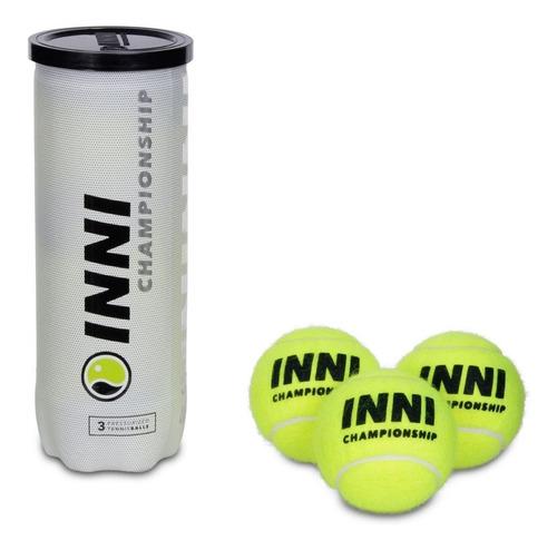 Bola De Tênis Inni Championship Pack C/ 06 Tubos