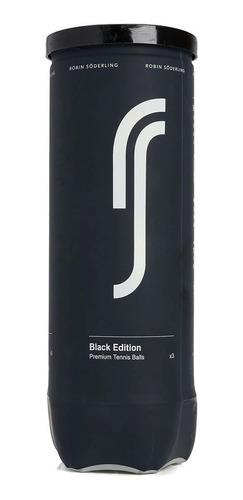 Bola De Tênis Robin Söderling Black Edition Pack C/ 06 Tubos