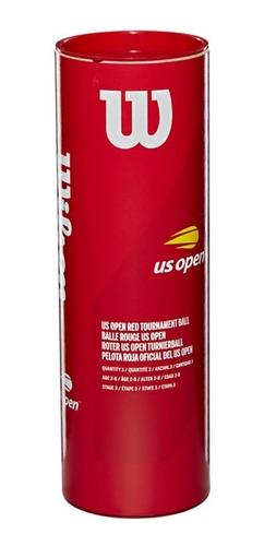 Bola De Tênis Wilson Us Open Stage 3 Vermelha