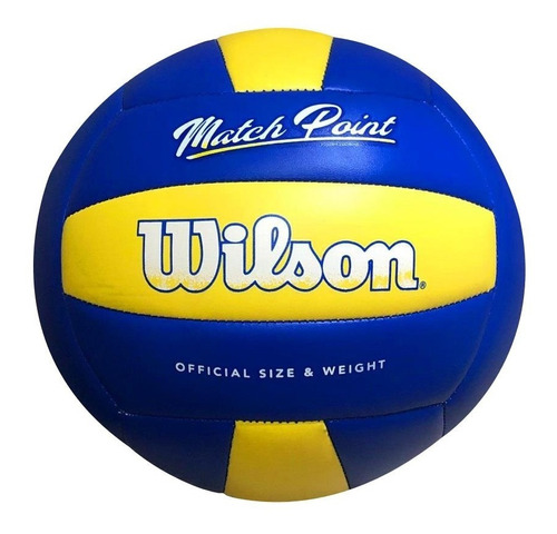 Bola De Volei Wilson Matchpoint Amarelo/azul