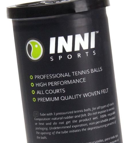 Caixa De Bola De Tenis Inni Tournament  24 Tubos