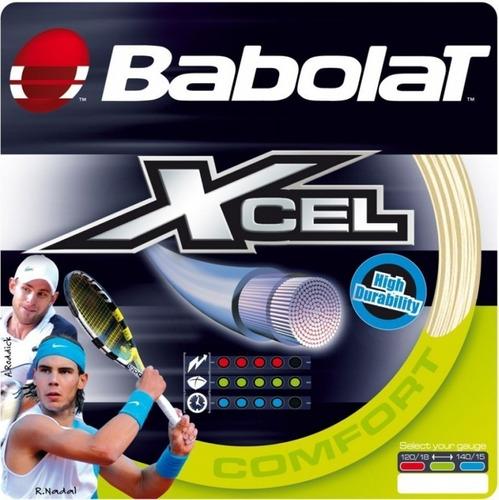 Corda Babolat Xcel Set Unitário Lacrado C/ 12m Mulfilamento