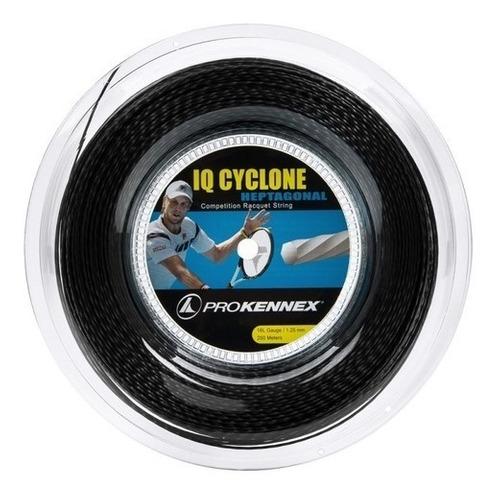 Corda Prokennex Iq Cyclone Heptagonal 16l 1.25mm Preta