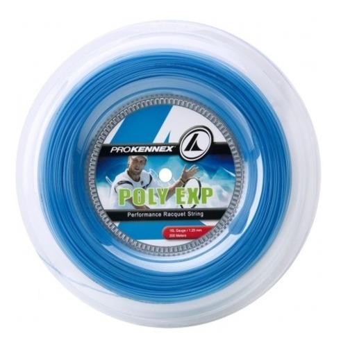 Corda Prokennex Poly Exp 16l 1.25mm Azul