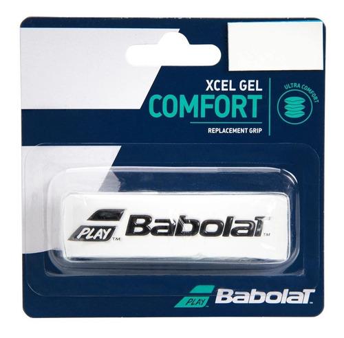 Cushion Grip Babolat Xcel Gel Comfort Branco E Preto