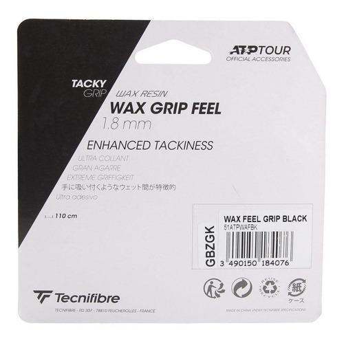 Cushion Grip Tecnifibre Atp Wax Feel Preto - 1.8mm