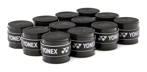 Grip Yonex- Super Grap - Rolo C/ 30 Unidades - Preto