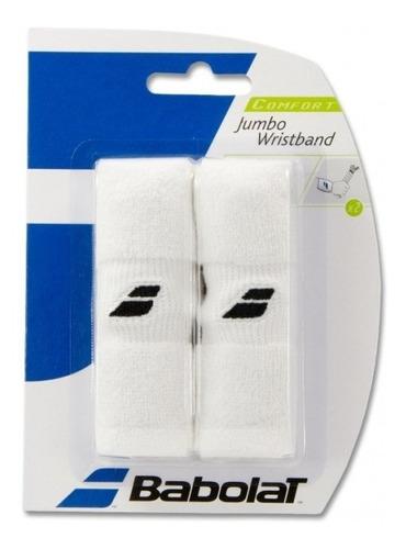 Munhequeira Babolat Jumbo Wristband Branco