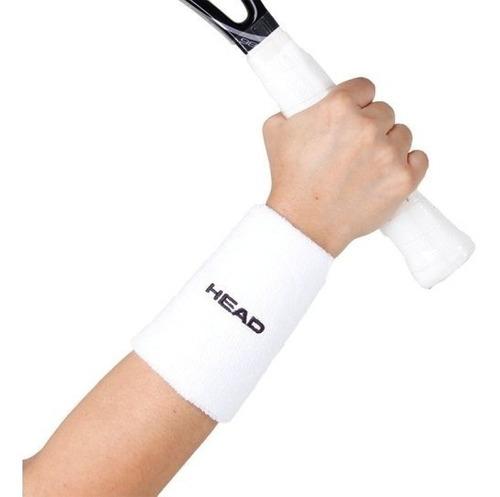 Munhequeira Head Wristband Branco