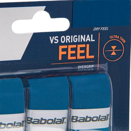 Overgrip Babolat Feel Vs Original X3 Azul