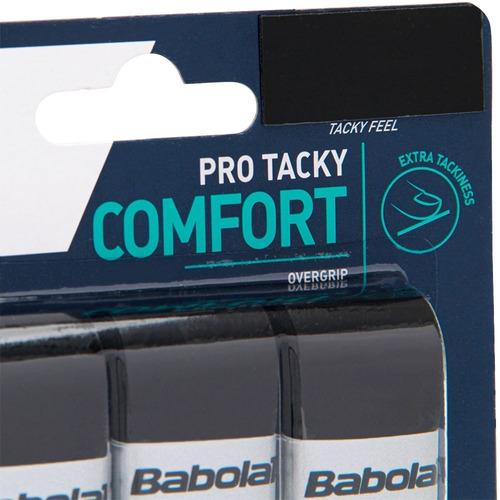 Overgrip Babolat Pro Tacky X3 Preto