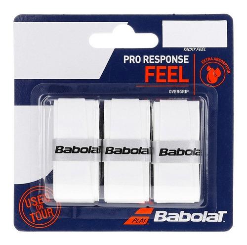 Overgrip Babolat Vs Original Feel Branco (pack Com 3 Un.)