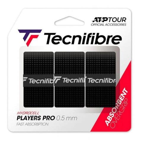 Overgrip Tecnifibre Players Pro - Embalagem Com 3 Unidades