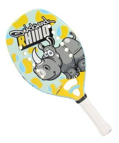 Raquete De Beach Tennis Quicksand Rhino Junior