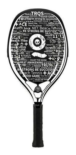 - Raquete De Beach Tennis Turquoise Black Death White