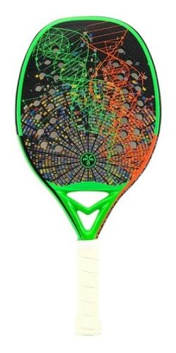 Raquete De Beach Tennis Turquoise Dna 1.1 - Green