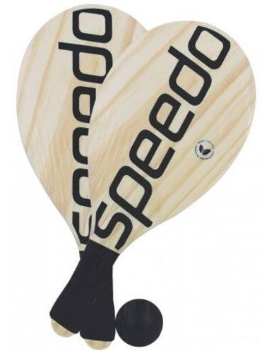 Raquete Frescobol Speedo - 2 Raquetes E 1 Bola