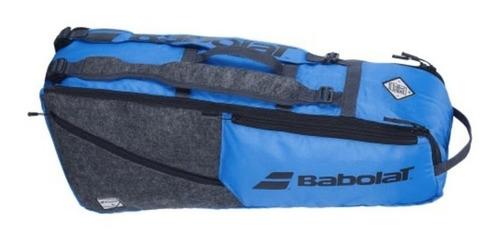 Raqueteira Babolat Rh6 Evo -cinza E Azul 2021