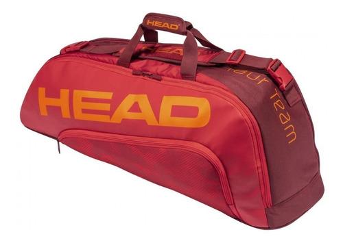 Raqueteira Head Tour Team 6r Combi Vermelha Modelo 2021