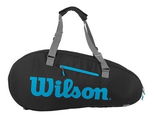 Raqueteira Wilson Ultra Termobag X9 Preta E Azul